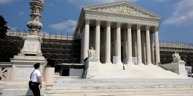 FILE: June 20, 2013: The U.S. Supreme Court building, in Washington, D.C.