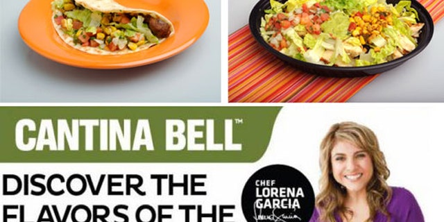 Taco Bell is testing Cantina Bell menu in California and Kentucky with an 'upscale' fast-food menu featuring rice-stuffed burritos, bowls and tacos.
