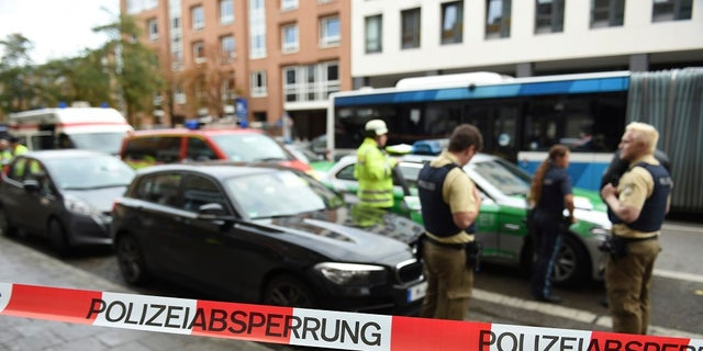 Police say a man with a knife wounded at least four people in Munich.