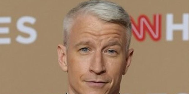 """CNN anchor Anderson Cooper had some fun at the expense of President Donald Trump's border wall on Wednesday night during his appearance on """"The Late Show."""""""