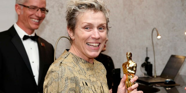 The man accused of stealing Frances McDormand's Best Actress Academy Award on Sunday was charged with theft, the Los Angeles County District Attorney's Office said. Charges were later dropped.