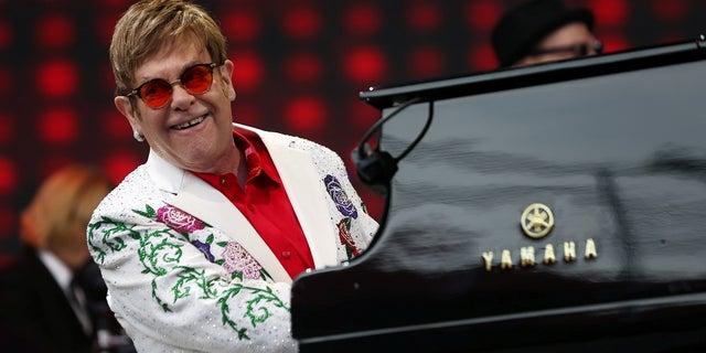 Elton John said his farewell tour was the end of touring for him.