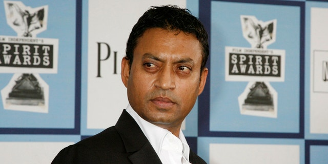 "Irrfan Khan, star of ""Life of Pi"" and other films. (Reuters)"