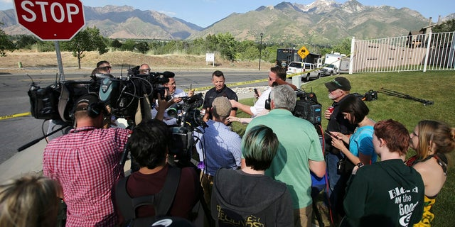 Utah investigators are trying to determine why a man opened fire on a woman and children inside a car Tuesday, June 6, 2017, in Sandy, leaving the woman, a boy and the man dead and two other children injured.
