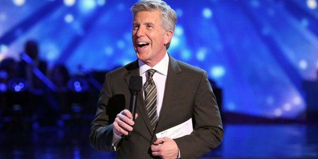 Tom Bergeron during his previous hosting duties on 'DWTS.'