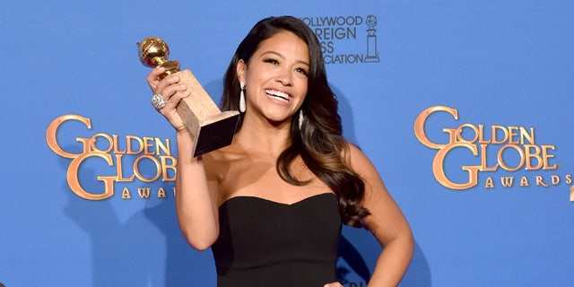 """Rodriguez takes her """"Jane the Virgin"""" role on and off screen as an activist for female inclusivity and supporter of the #MeToo movement."""