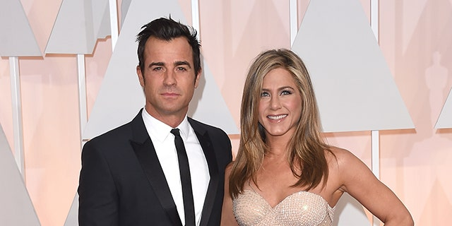 Justin Theroux and Jennifer Aniston married in 2015 and later split in 2018.