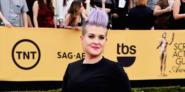TV personality Kelly Osbourne attends the 21st Annual Screen Actors Guild Awards at the Shrine Auditorium in L.A. four years ago. (Photo by Frazer Harrison/Getty Images)