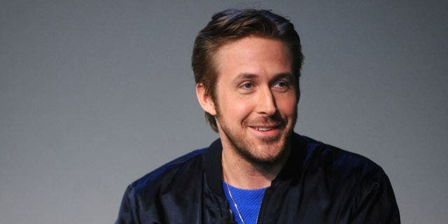 Ryan Gosling at a talk in 2015.