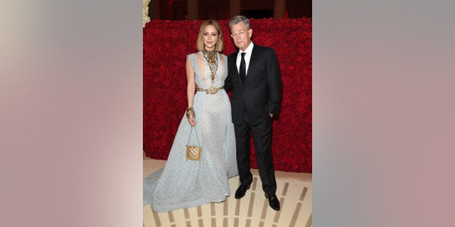 "Singer Katharine McPhee of ""American Idol"" fame confirmed her long-rumored romance with music producer David Foster at the annual Met gala in New York City where she told ET they were having ""a nice date night."" <b><a href=""https://www.etonline.com/katharine-mcphee-and-david-foster-make-met-gala-debut-as-a-couple-with-a-nice-date-night-exclusive"" target=""_blank"">MORE: KATHARINE MCPHEE AND DAVID FOSTER MAKE MET GALA DEBUT AS A COUPLE</a></b>"