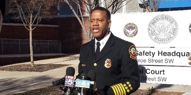 Former Atlanta Fire Chief Kelvin Cochran