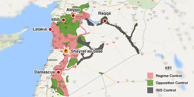 Syrian civil war continues after almost six-and-a-half years of heavy fighting