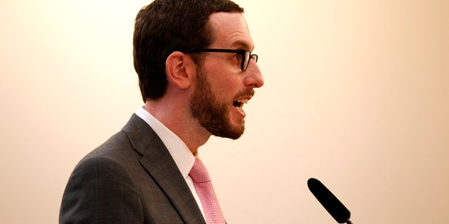 California state Sen. Scott Wiener, seen in 2014, has proposed a bill regarding use of pronouns for transgender seniors.
