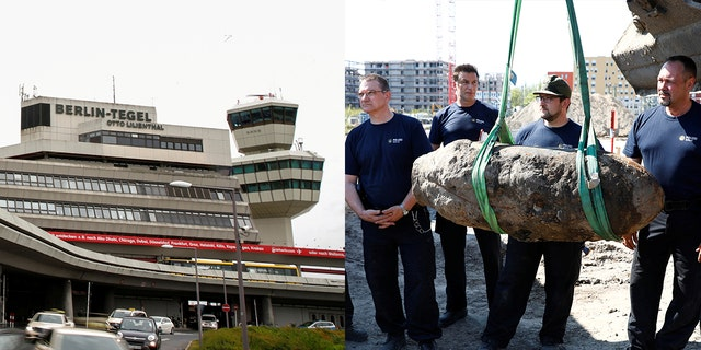 Scheduled flights will take off as normal at Tegel Airport on April 20.