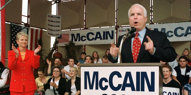 John McCain announced his first candidacy for the Republican nomination for president in 1999.