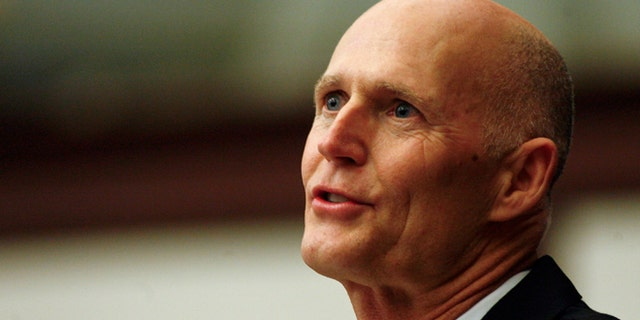 Gov. Rick Scott, seen here, had called for Latvala's resignation.