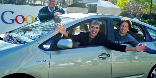 Google's driverless Toyota Prius