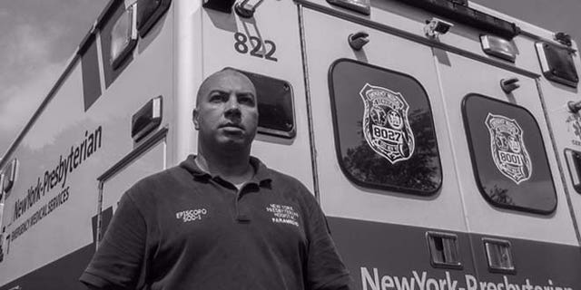 John Episcopo was an EMT who treated patients on the scene. Two of his co-workers died that day.