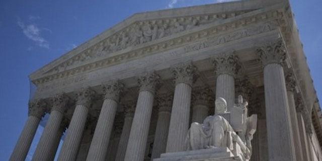 The U.S. Supreme Court building in Washington D.C.