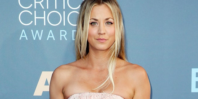 Kaley Cuoco lost her beloved rescue dog, Norman, in January.
