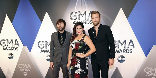 Lady Antebellum is nominated for Vocal Group of the Year.
