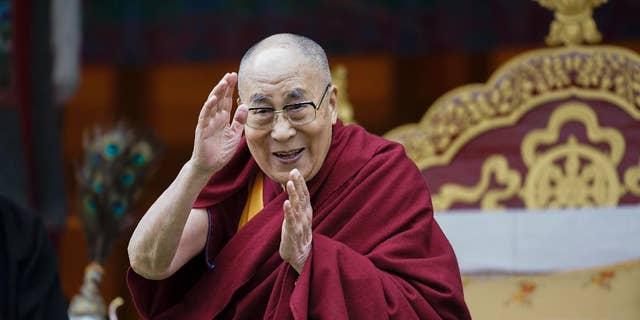 Tibetan spiritual leader the Dalai Lama. ( AP Photo/ Tenzin Choejor)