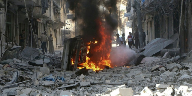 A suicide bomber struck a Syrian wedding