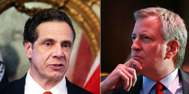 Despite both being Democrats, New York Gov. Andrew Cuomo, left, and New York City Mayor Bill de Blasio often fail to see eye to eye.