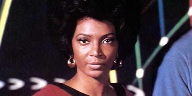 """Nichelle Nichols headshot, as Lt. Uhura in """"Star Trek."""""""