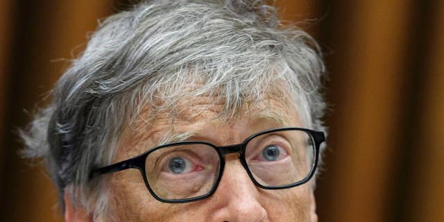 Bill Gates, Microsoft Co-Founder and Co-Chair of a Bill and Melinda Gates Foundation. (Martial Trezzini/Keystone around AP)