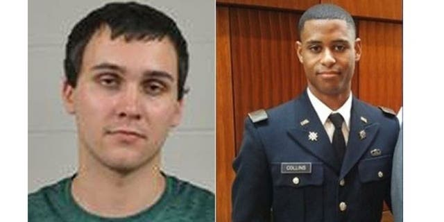 Sean Urbanski, 22, at left, is accused of stabbing Richard Collins III. 23, on the University of Maryland campus in College Park early Saturday, May 20, 2017.