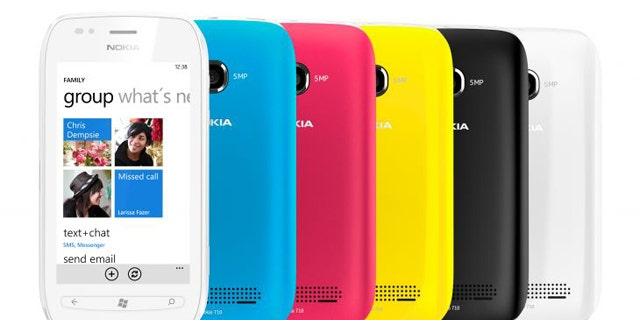 The Nokia Lumia 710, a Windows Phone-powered smartphone that T-Mobile may soon distribute in the U.S.