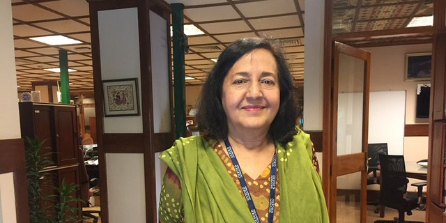 Ameena Saiyid, chair of the Oxford University Press Pakistan in Karachi.