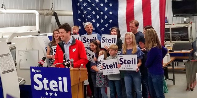 Bryan Steil, a Paul Ryan-backed candidate, won big on Tuesday, with more than 50 percent of the vote.