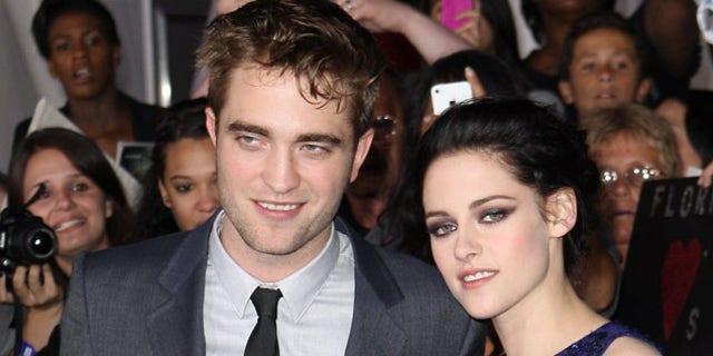 Robert Pattinson and Kristen Stewart, in happier times.