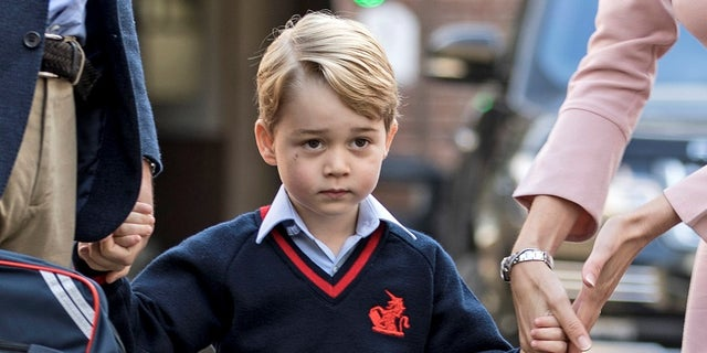 Prince George is the oldest son of Prince William and is third in line of succession to the British throne.