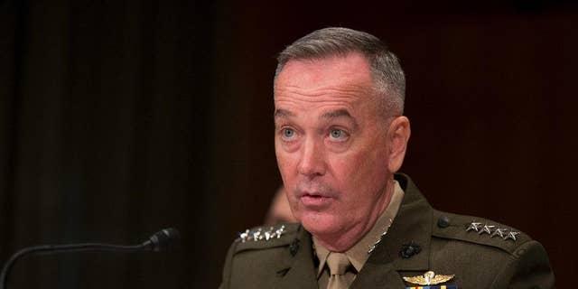 Joint Chiefs Chairman Gen. Joseph Dunford Jr. in April 2016.
