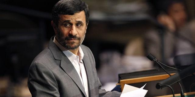 Sept. 21: Iranian President Mahmoud Ahmadinejad speaks at U.N. headquarters.