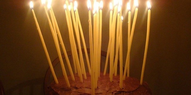 8 Really Tall Candles