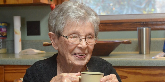 The soon-to-be centenarian reflects on her incredible 100 years of life at her kitchen table.