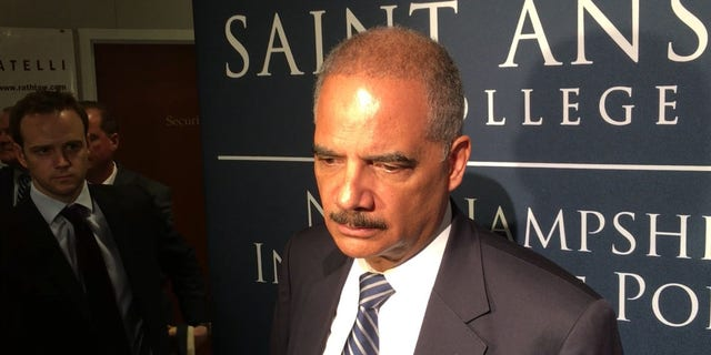 Former Attorney General Eric Holder visited New Hampshire Friday and said that he would decide on a Democratic presidential run by early next year.