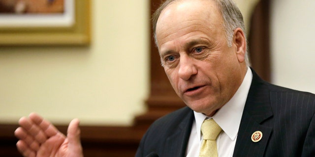 Engulfed in controversy for his past support of white supremacist groups and leaders in light of Saturday's massacre at a Pittsburgh synagogue, Rep. Steve King, R-Iowa, is riding out the closing days of a re-election campaign whose success is suddenly in question.