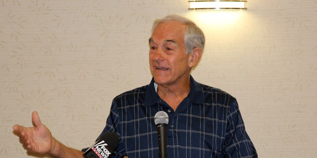 Aug. 11: Rep. Ron Paul in Ames, Iowa.