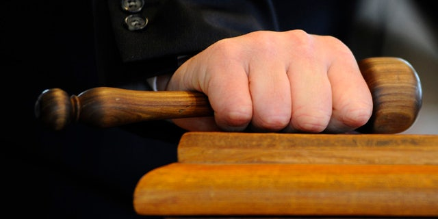 NEWMARKET, ENGLAND - OCTOBER 08: Auctioneers gavel at Tattersalls yearling sales on October 08, 2013 in Newmarket, England. (Photo by Alan Crowhurst/Getty Images)