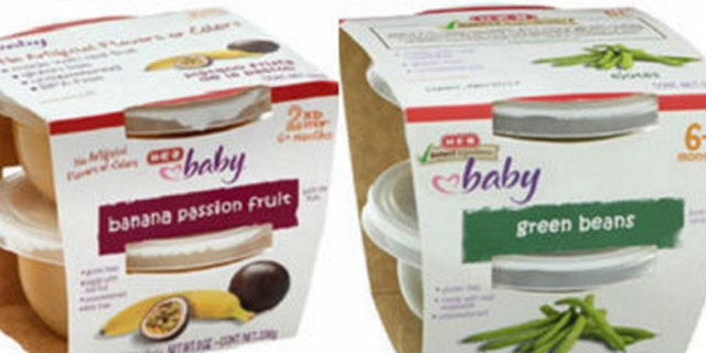 H-E-B issued a recall for its entire H-E-B Baby Food 2 pack 4 oz. cups.