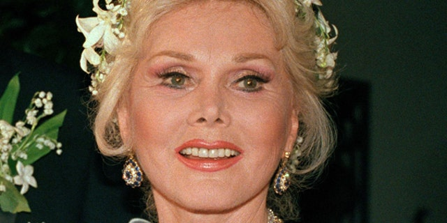 Zsa Zsa Gabor, shown here in this AP file photo, was hospitalized on July 17 in Los Angeles for broken bones. (AP)