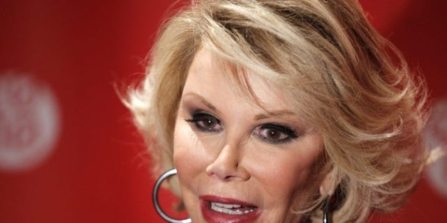 """Jan 25, 2010: Comedian Joan Rivers arrives for the premiere of the documentary """"Joan Rivers - A Piece Of Work"""" during the 2010 Sundance Film Festival in Park City, Utah."""