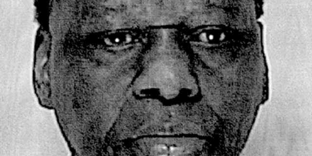 This Aug. 24, 2011 black-and-white booking photo provided Monday, Aug. 29, 2011 by the Framingham Police Department shows Onyango Obama, arrested in Framingham, Mass., for several infractions, including operating a motor vehicle under the influence of alcohol. He is the uncle of President Barack Obama.
