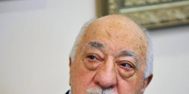 Islamic cleric Fethullah Gulen in July.