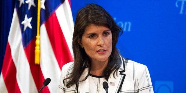 Ambassador Nikki Haley has ramped up U.S. rhetoric on anti-Israel bias at the U.N.